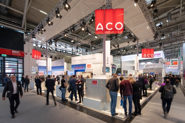 ACO Messestand