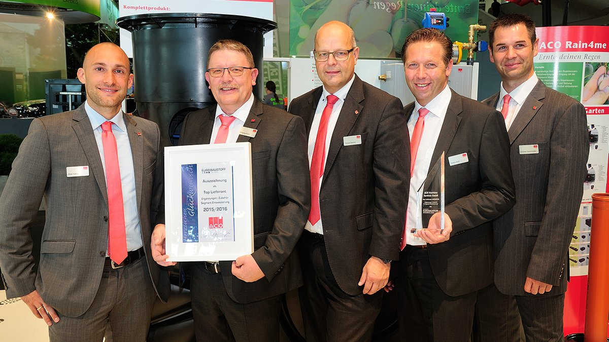 Eurobaustoff Top Lieferant Award